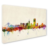 ''San Francisco, California'' Canvas Wall Art