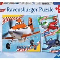 Disney Planes - Dusty and Friends - (3 x 49) Piece Jigsaw Puzzles