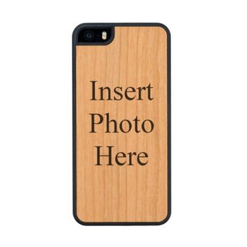 Create Your Own Custom Photo Carved® Cherry iPhone 5 Slim Case