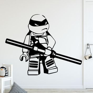 Diy Teenage Mutant Ninja Turtles Home Decor Wall Stickers For Kids Room Living Room Home Decor Sticker Home Decor