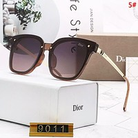 DIOR Women Fashion New Polarized Sun Protection Travel Eyeglasses Glasses 5#