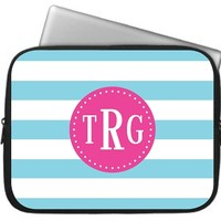 Bold Stripe Laptop, Macbook, or iPad Sleeve
