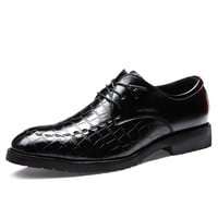 Height Increase Low-cut Thick Crust England Style Casual Korean Shoes = 6450572803