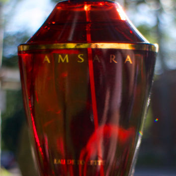 Vintage Samsara by Guerlain EDT 100ml-3.4fl.oz., New Bottle-Sealed Box, 2nd Version 1985