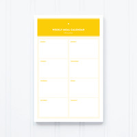 Notepad - Meal Plan