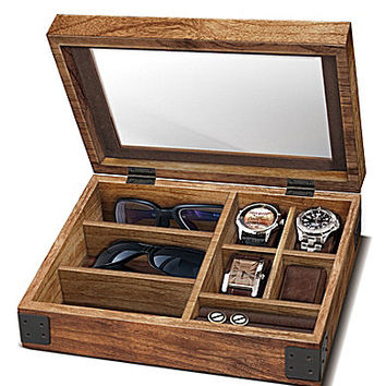 Berkshire Vintage Classic Watch & Sunglasses Organizer