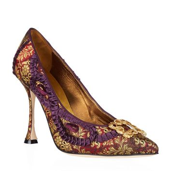 Manolo Blahnik Tradi 105 Pumps | Harrods