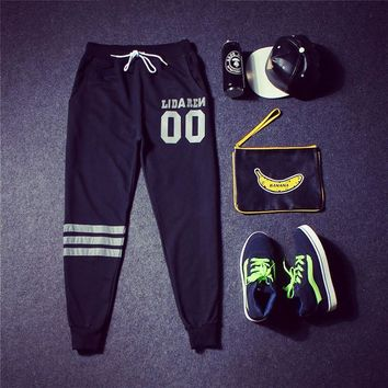 Casual Cotton Hip-hop Pants [9302644039]