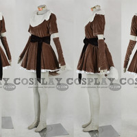 Custom Eevee Costume from Pokemon - Tailor-Made Cosplay Costume