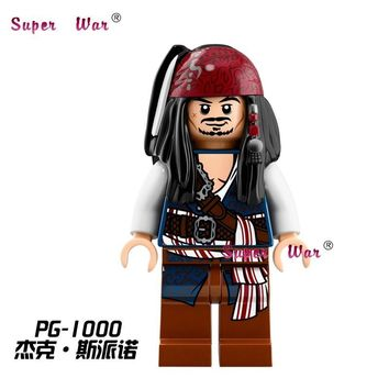 Star Wars Force Episode 1 2 3 4 5 20pcs  Pirates of the Caribbean Tales Jack Sparrow building blocks bricks models classic learning education baby toys AT_72_6