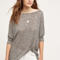 On the Road Striped Tulip Top