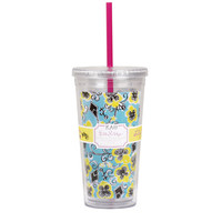 Lilly Pulitzer Sorority Acrylic Tumbler With Straw - Ryan's Daughters