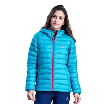 Fashion Outdoors Casaco Trekking Abrigos Mujer Puffer Duck Down Winter Jacket Women Trekking Coats Ultra-light Casual Parka