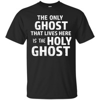 Funny Christian Halloween T-Shirt Holy Ghost Gift