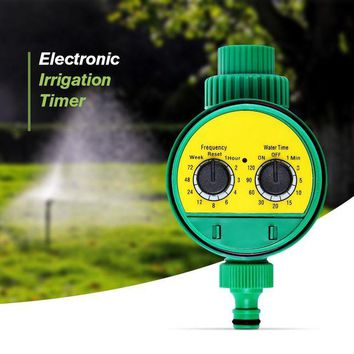 ONETOW Automatic Intelligent Electronic LCD Water Timer Rubber gasket design Solenoid Valve Irrigation Sprinkler Controller