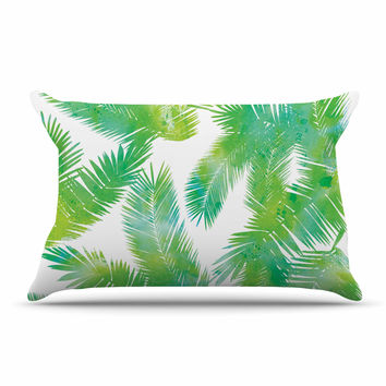 "Draper ""Tropic Summer"" Green Nature Pillow Sham"