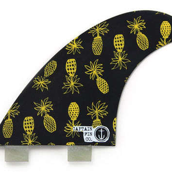 "Captain Fin Andy Davis ""Pineapples"" Quad Fins"