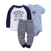 Mommy's All-Star 3pc Baby Set