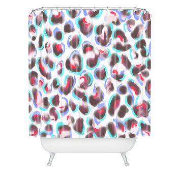 Jacqueline Maldonado Leopard Cool Shower Curtain