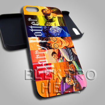 AJ 2385 Harry Potter Book Cover - iPhone 4/4s/5 Case - Samsung Galaxy S2/S3/S4 Case - Black or White
