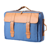 Colorful Multi Big Book Backpack (Sky Blue)