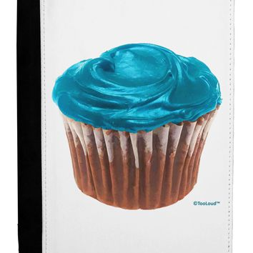Giant Bright Turquoise Cupcake Ipad Mini Fold Stand  Case by TooLoud