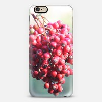 Red berries iPhone 6s case by littlesilversparks | Casetify