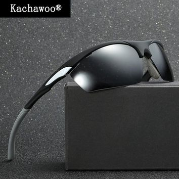 Male Cycling Goggle Glasses Bicycle Sunglasses for Fishing Men Half Rim Glasses Polarized with Box UV400 Mirror