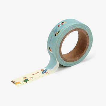 "Deco 0.59""X11yd single masking tape - Vacation"
