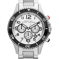 Marc by Marc Jacobs Watch, Men's Chronograph Stainless Steel Bracelet 46mm MBM5027 - Men's Watches - Jewelry & Watches - Macy's