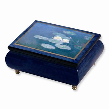 Monet Water Lillies Masterpiece Music Box