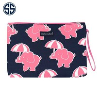 Simply Southern Collection Brush Bag in Elephant Print 03-ELE