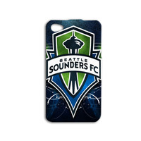 Seattle Sounders Phone Case Soccer iPod Case Sport iPhone Case Wood Case iPhone 4 iPhone 5 iPhone 4s iPhone 5s Cute iPod 5 Case iPod 4 Case