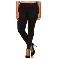 """Your New Favorites! Must Have """"Amazing"""" No Peek-a-Boo See Through PLUS Size Black Leggings"""