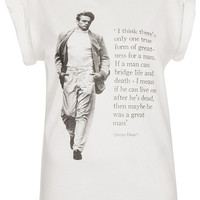 James Dean Tee By Tee And Cake - Jersey Tops - Clothing - Topshop USA