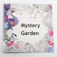 24 Pages 25*25cm Coloring Books For Kids And Adults Painting Book Mystery Garden Secret Garden Coloring Book
