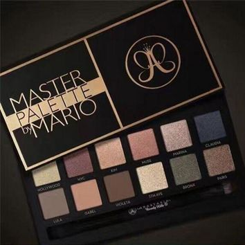 CREYONPR Anastasia Master Palette Eye Shadow 12 Color Matte Eyeshadow