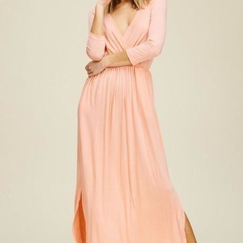 Petunia Faux-Wrap Maxi + Colors