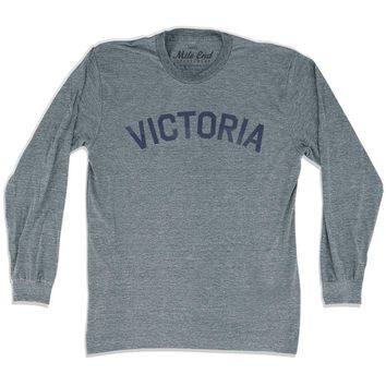 Victoria City Vintage Long Sleeve T-shirt