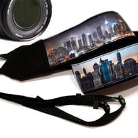 New York Camera Strap. Nikon, Canon Camera Strap. Dslr Camera Strap