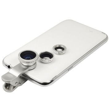 Universal 3 In 1 Clip-on Fish Eye Macro Wide Angle Mobile Phone Lens Camera kit for iPhone 4 5 6 ,Samsung S4 S5 note2 3,MOTOROLA