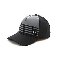 Under Armour Striped Out Hat - Black/Graphite/Graphite