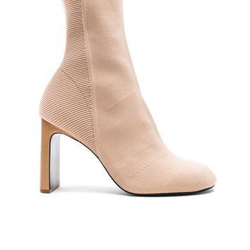 Rag & Bone Knit Ellis Boots in Nude | FWRD