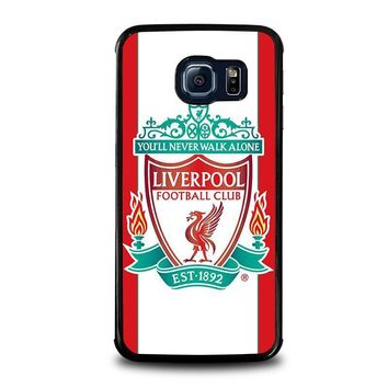 liverpool fc samsung galaxy s6 edge case cover  number 1
