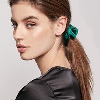 Crushed Velvet Scrunchie - Stocking Stuffers - 1000249117 - Forever 21 Canada English
