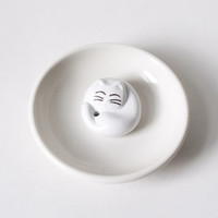 Sleeping Cat Incense Burner