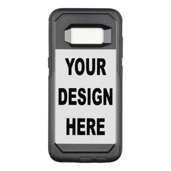 Customize OtterBox Commuter Samsung Galaxy S8 Case