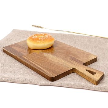Wood Cutting Board Chopping Block  Kitchen Accessories
