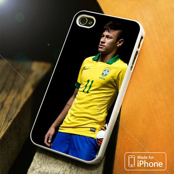 Neymar Jr Brazil iPhone 4(S),5(S),5C,SE,6(S),6(S) Plus Case