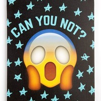 Can You Not Emoji Stretched Wall Canvas   Canvases & Wood   rue21